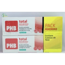 Pack Ahorro Pasta Dentífrica Total PHB