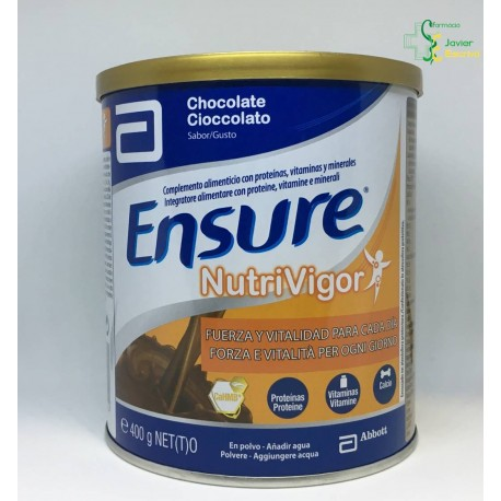 Ensure Nutrivigor Chocolate 400g Abbott