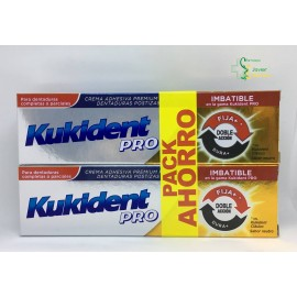 Pack Ahorro Kukident Doble Acción 2x40g