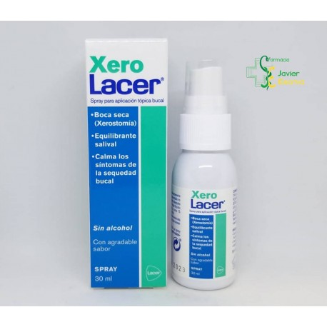 XeroLacer Spray Bucal 30ml Lacer