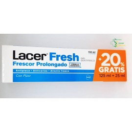 Lacer Fresh Gel Dentífrico 125ml Lacer